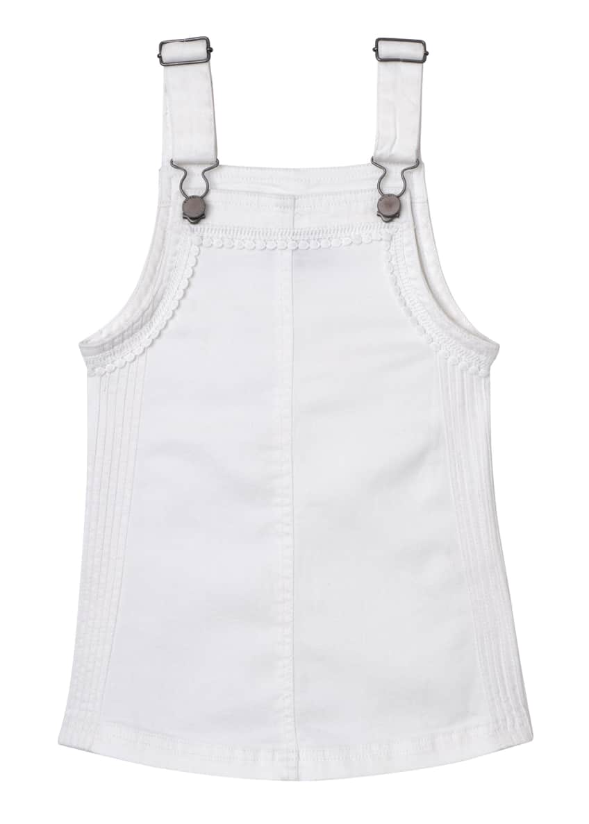 DL1961 Premium Denim Penelope Overall Pinafore Dress, Size