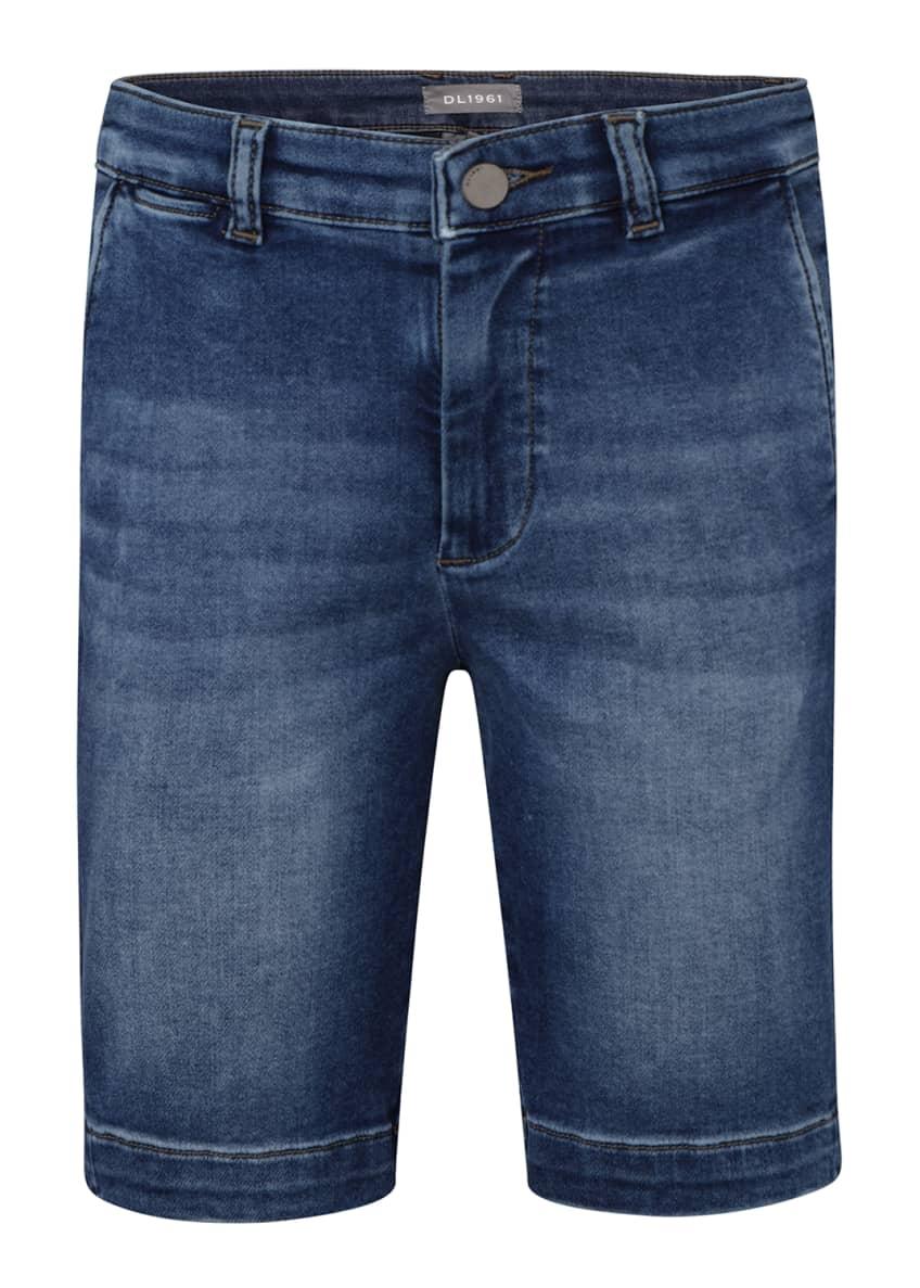 DL1961 Premium Denim Boys' Jacob Chino Shorts, Size