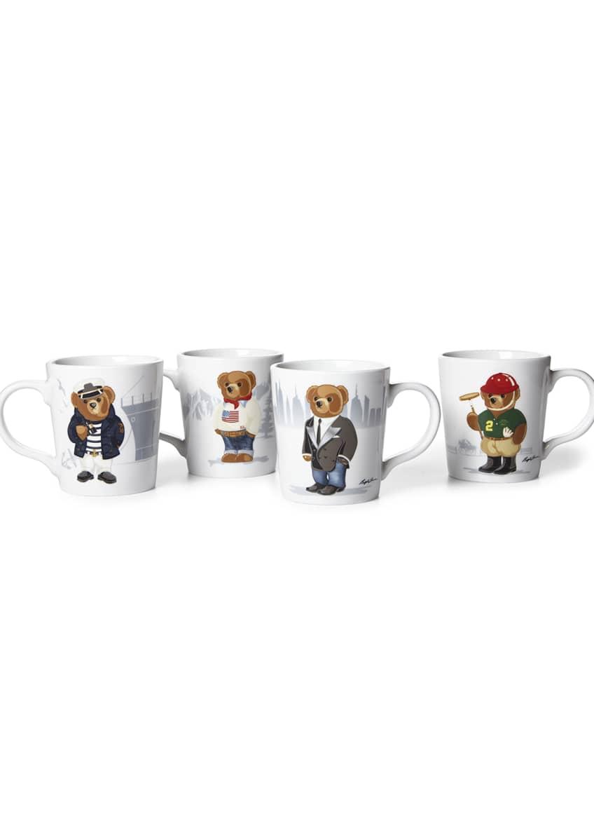 Ralph Lauren Haven Bears Assorted Mugs, Set of
