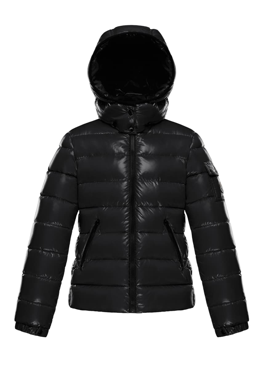 Image 1 of 2: Bady Quilted Hooded Puffer Jacket, Size 4-6