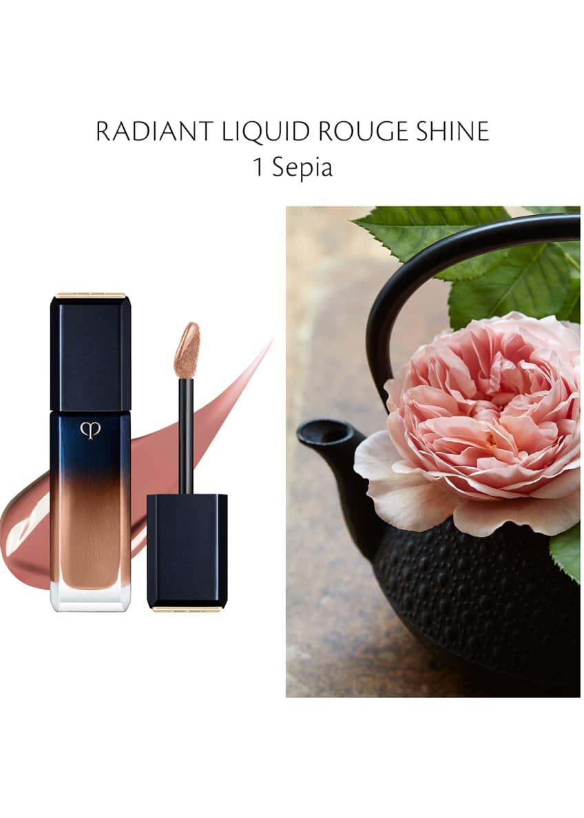 Cle de Peau Beaute 0.27 oz. Radiant Liquid Rouge Shine - Bergdorf Goodman