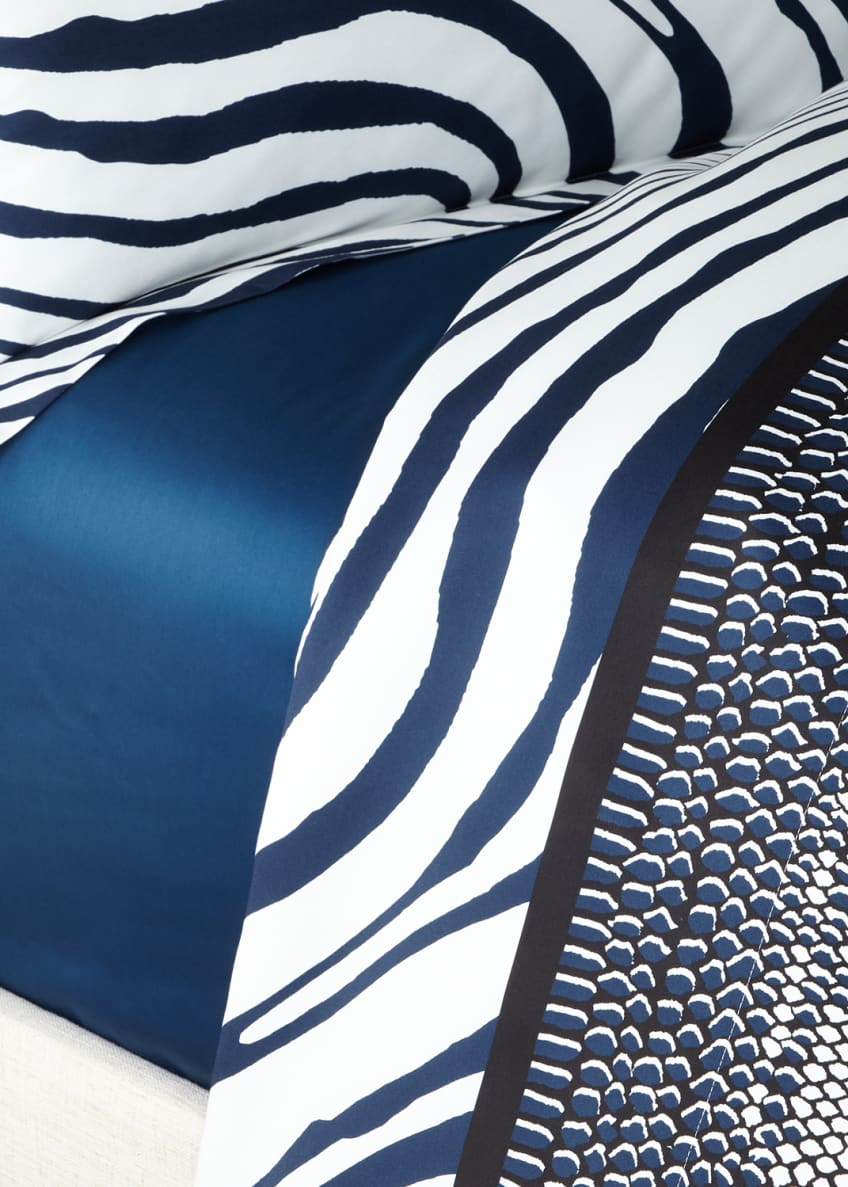 Image 1 of 1: Frame Zebrage Queen Fitted Sheet