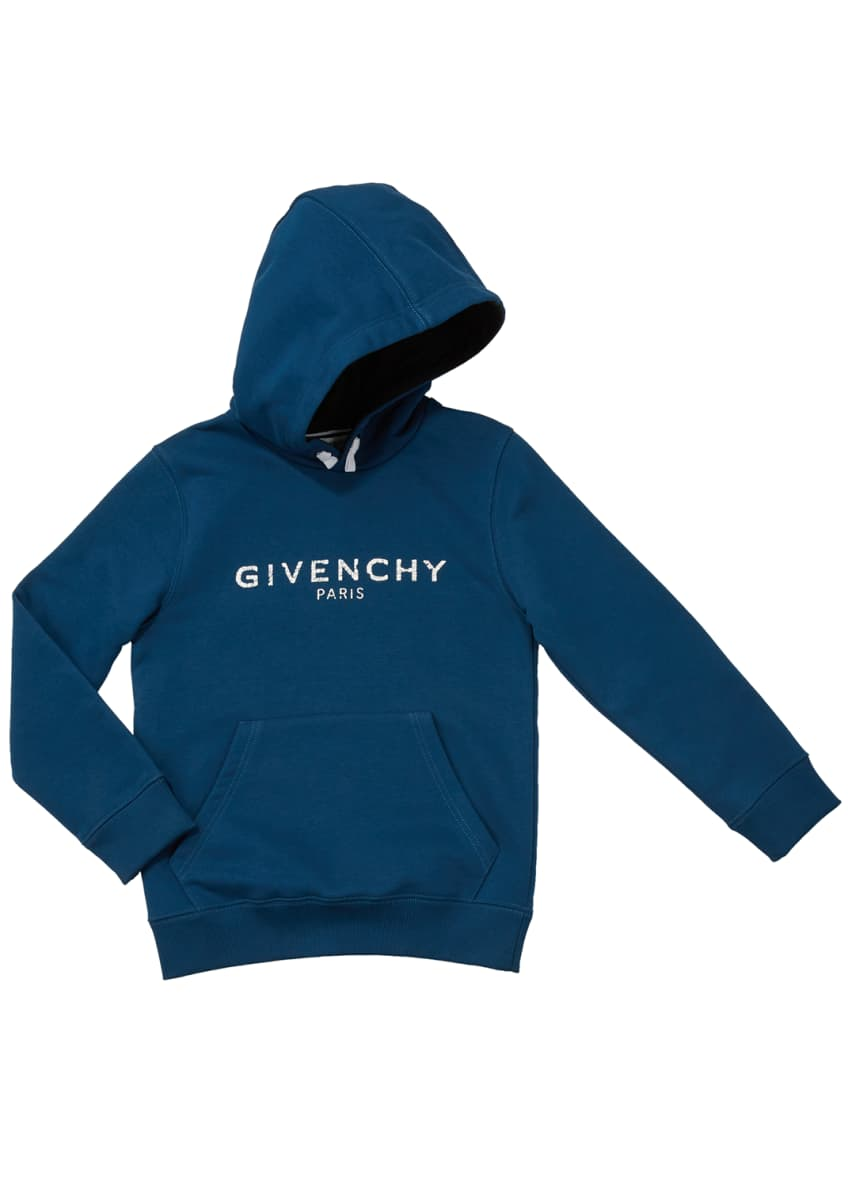 Givenchy Boys' Hooded Logo Sweatshirt, Size 4-10 &