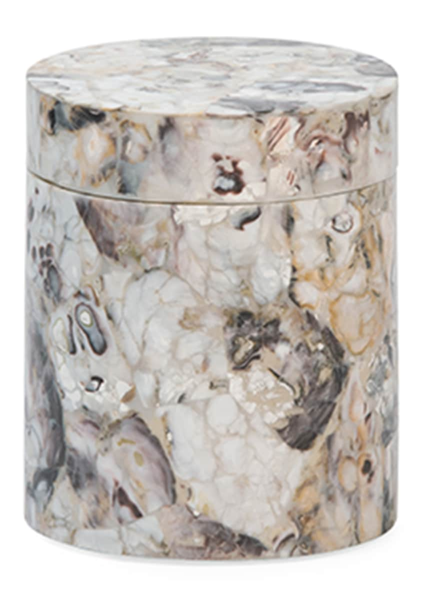 Image 1 of 2: Tramore Natural Laminated Canister