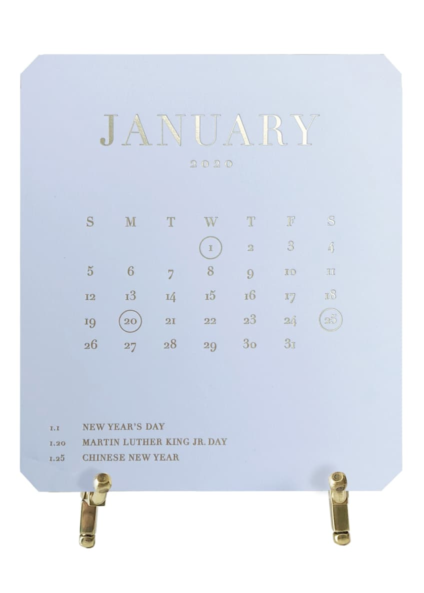 Bell'INVITO 2020 Color My Days Calendar