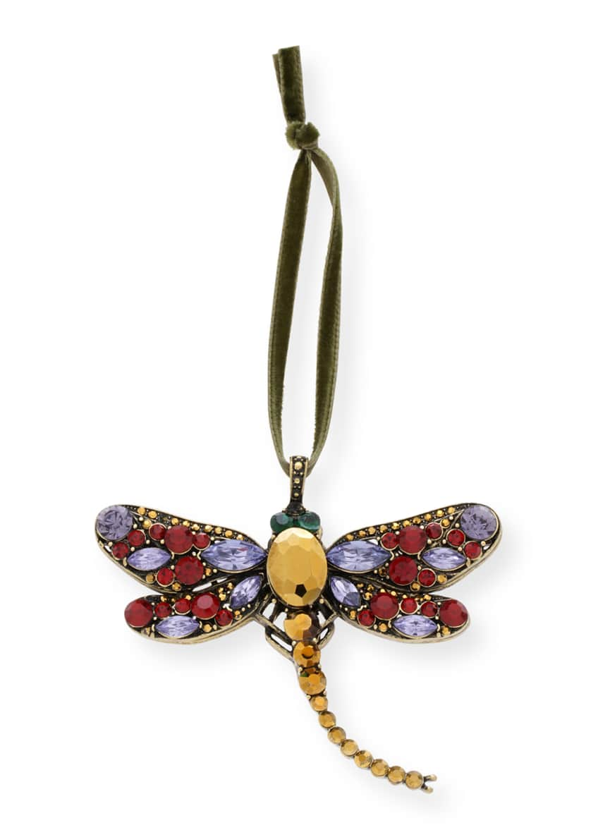 Image 1 of 2: Large Dragonfly Hanging Ornament