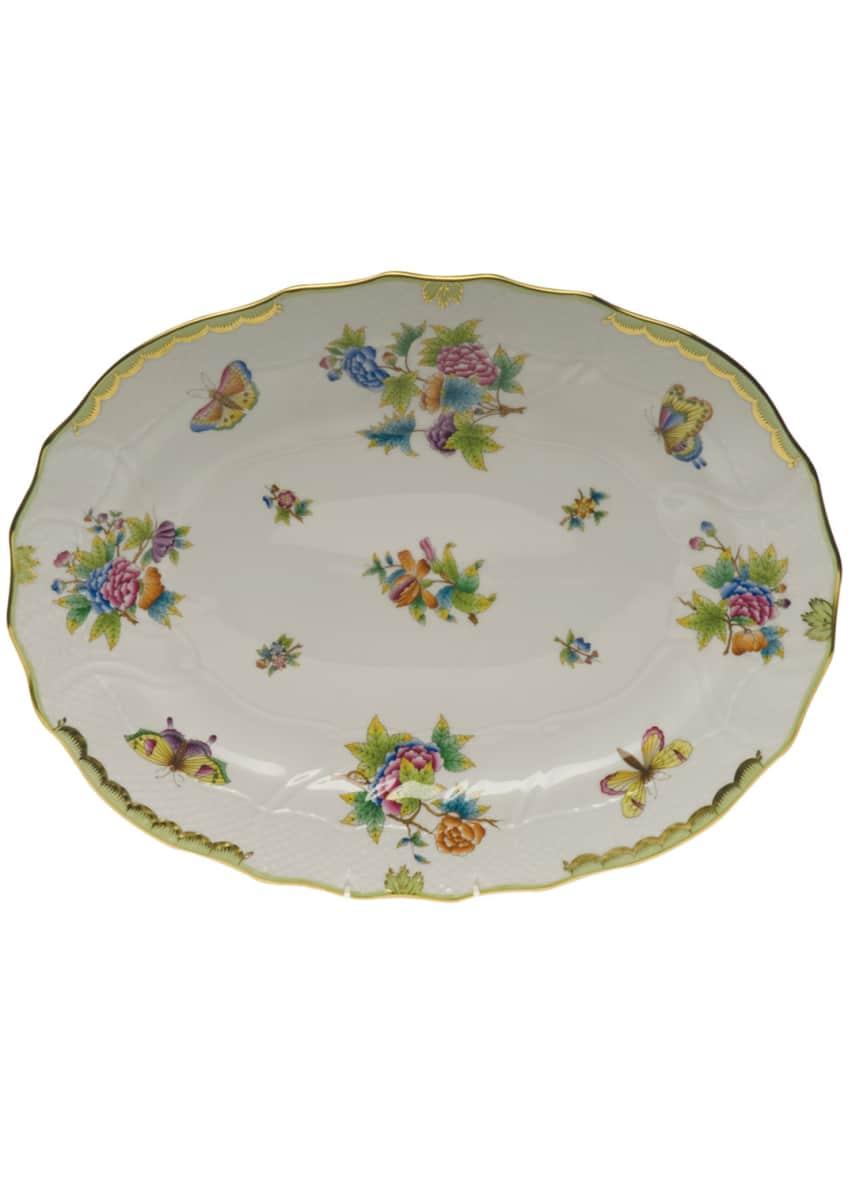 Herend Queen Victoria Platter, Large