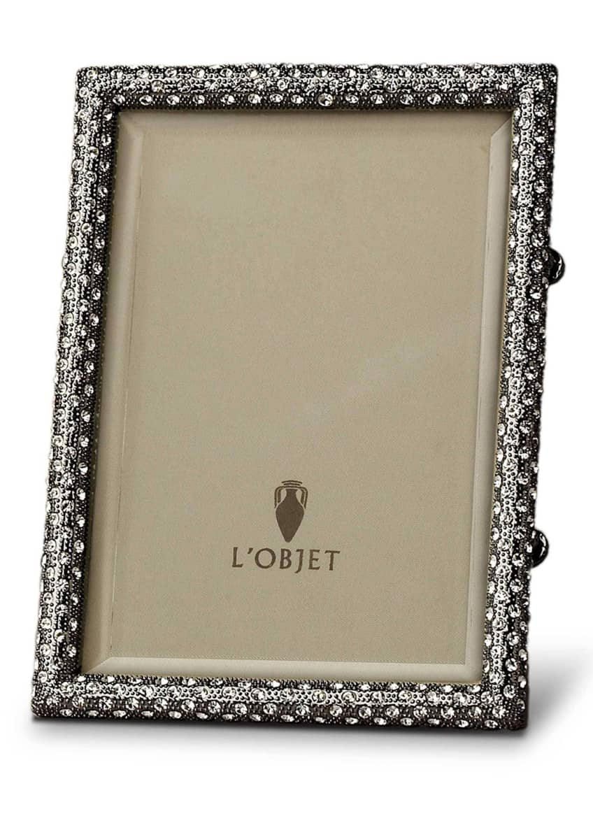 "Image 1 of 1: Pave Black Picture Frame, 8"" x 10"""