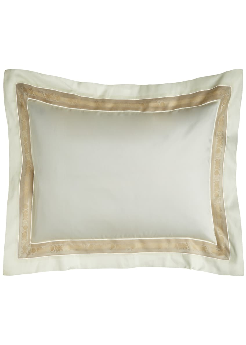 Image 1 of 1: Standard 300 Thread Count Garland Pillowcase