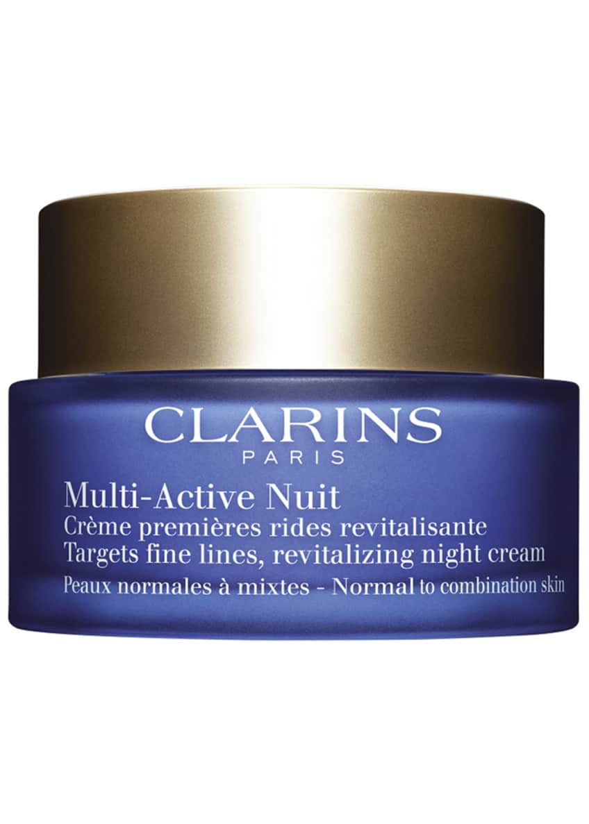 Image 6 of 6: Multi-Active Night Cream, Normal to Combination Skin, 1.6 oz.