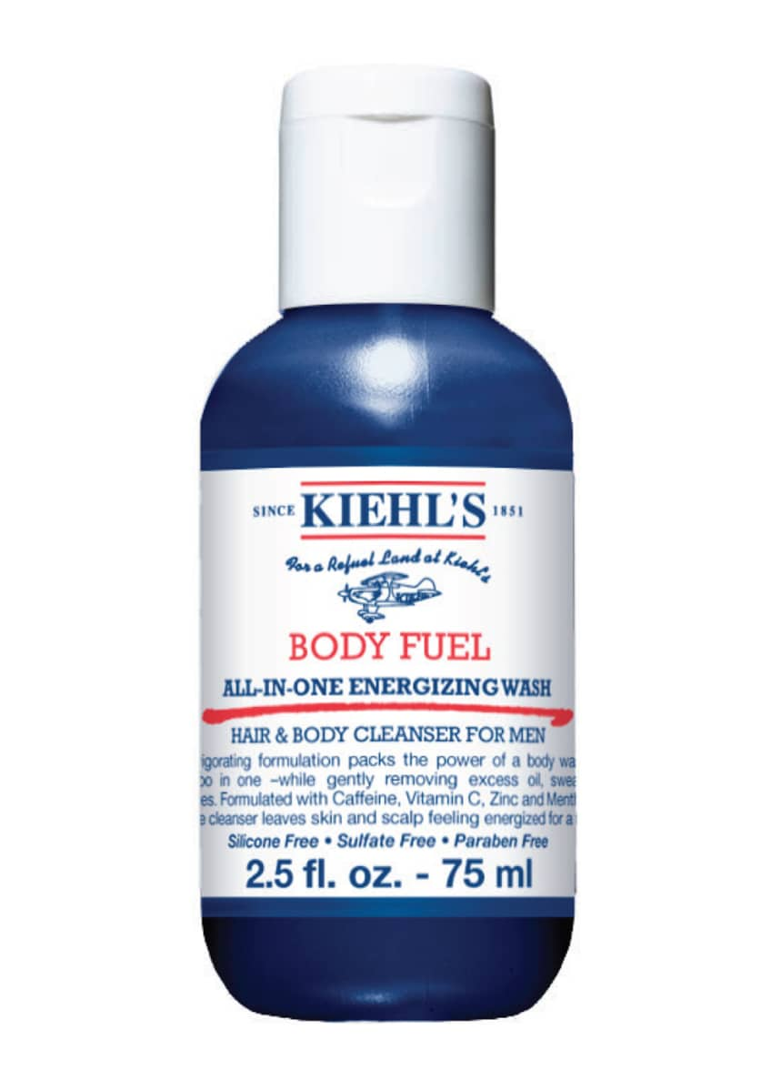 Kiehl's Since 1851 Body Fuel All-In-One Energizing Wash for Hair and Body, 2.5 oz. and Matching Items & Matching Items - Bergdorf Goodman
