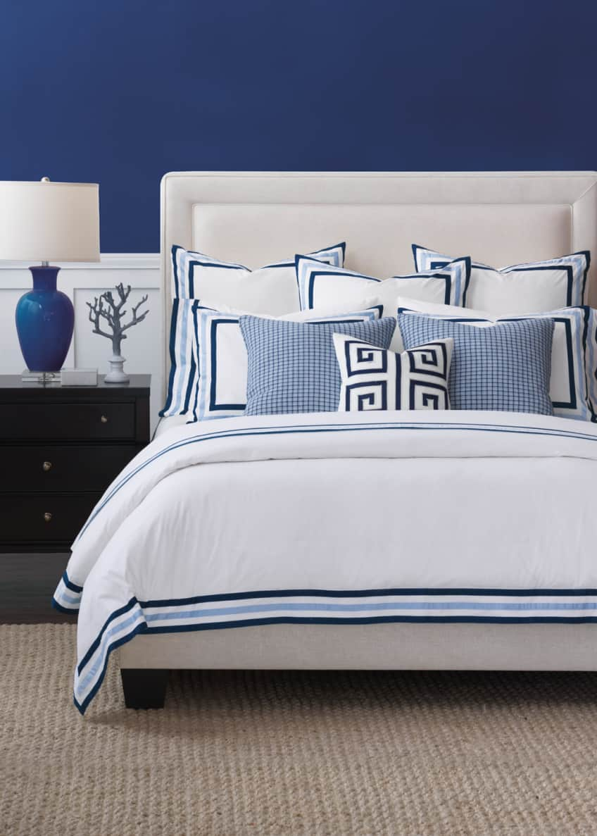 Image 2 of 2: Watermill Indigo Oversized King Duvet