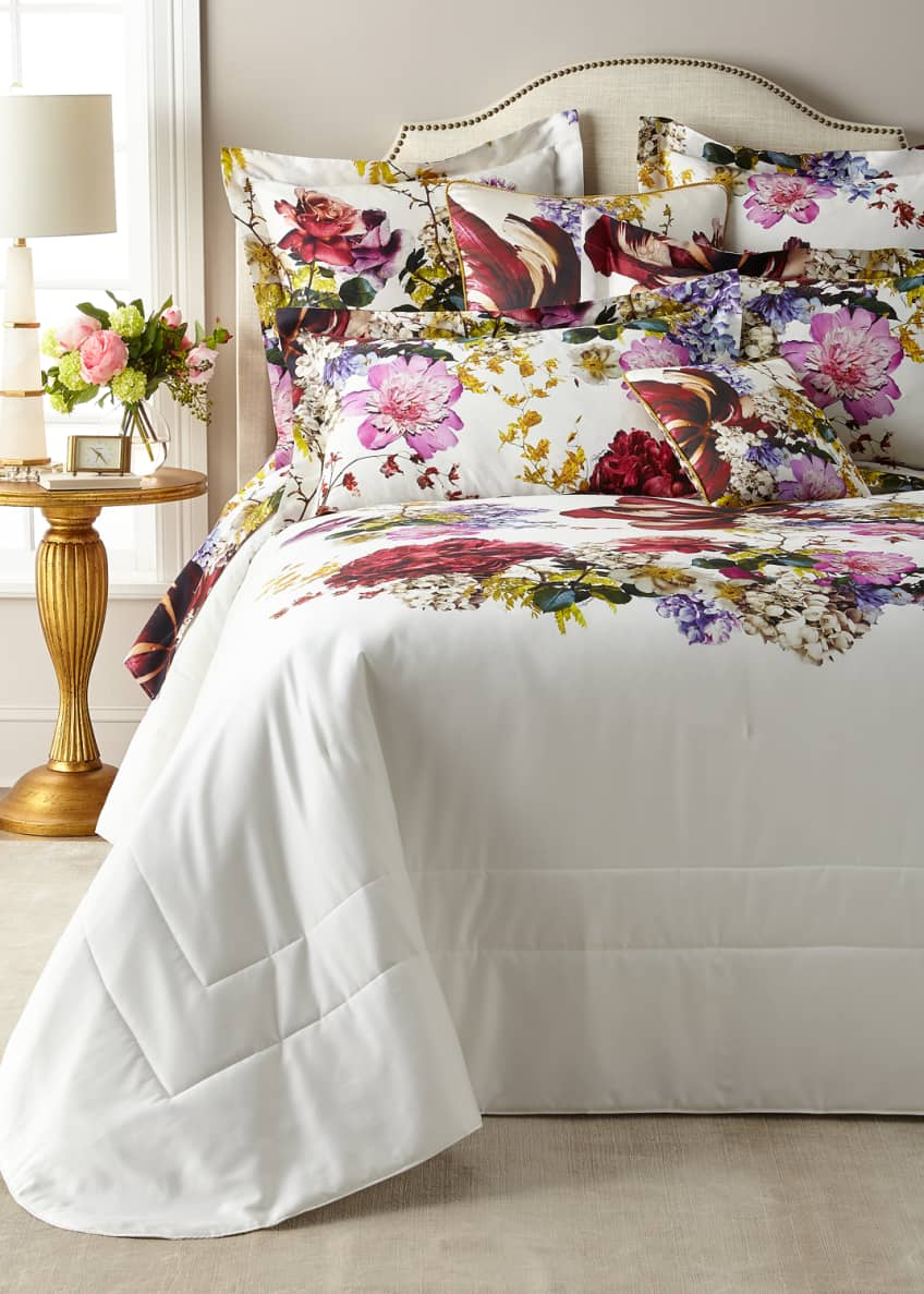 Image 3 of 5: Floris Queen Duvet Cover