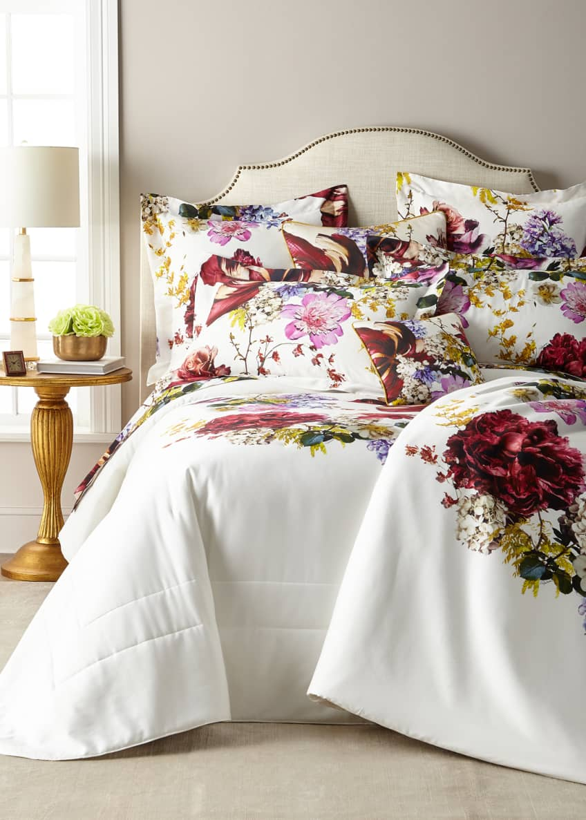 Image 2 of 5: Floris Queen Duvet Cover
