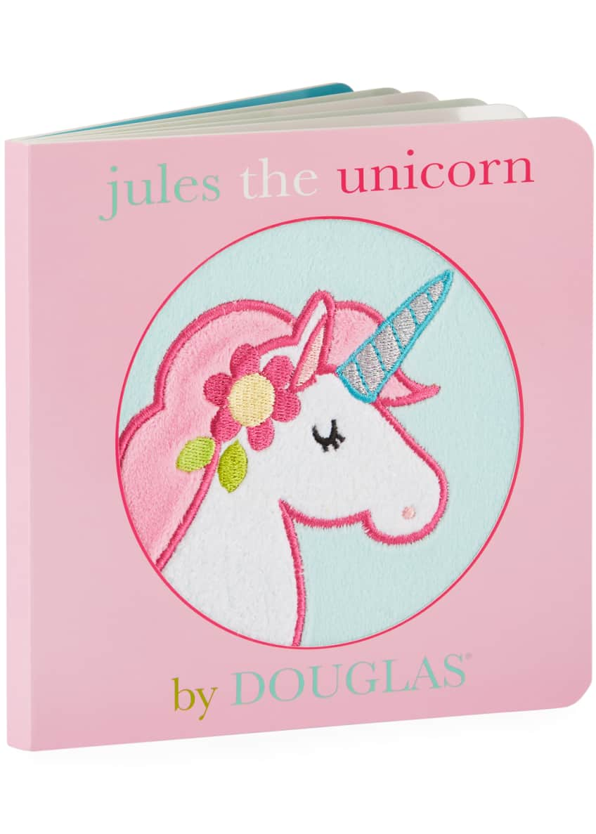 "Image 3 of 3: ""Jules The Unicorn"" Children's Board Book by Douglas"