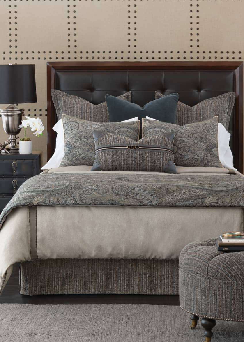 Image 2 of 2: Reign Oversized Queen Duvet Cover