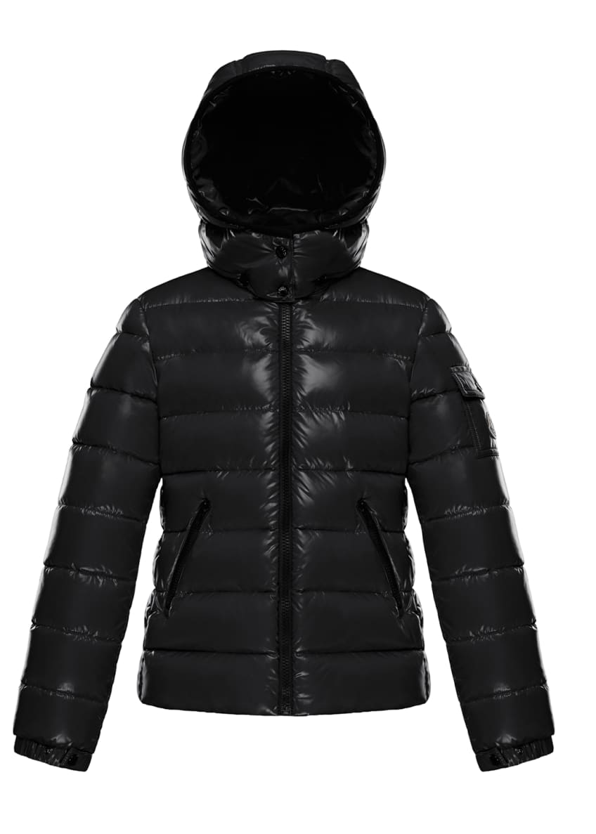 Image 3 of 3: Bady Laque Mini Me Quilted Hooded Puffer Jacket, Size 8-14