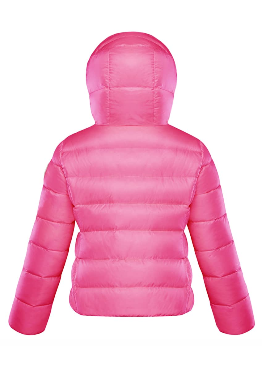 Image 4 of 4: Chevril Hooded Puffer Coat, Size 4-6