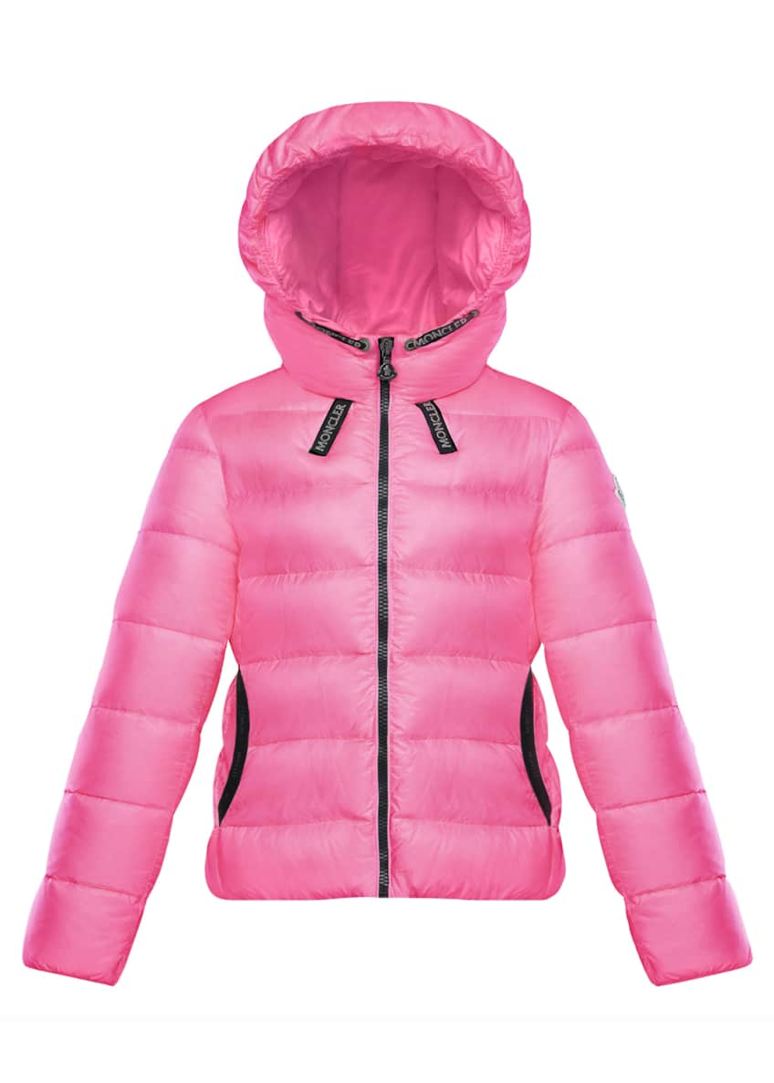 Image 3 of 4: Chevril Hooded Puffer Coat, Size 4-6