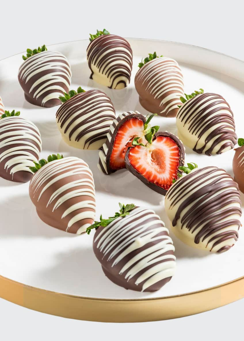 Image 1 of 1: Chocolate Strawberries with Drizzles