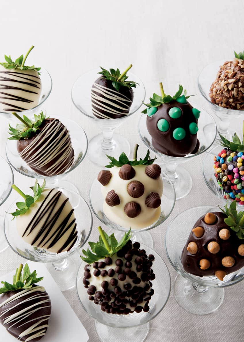 Image 1 of 1: Chocolate Strawberries with Toppings