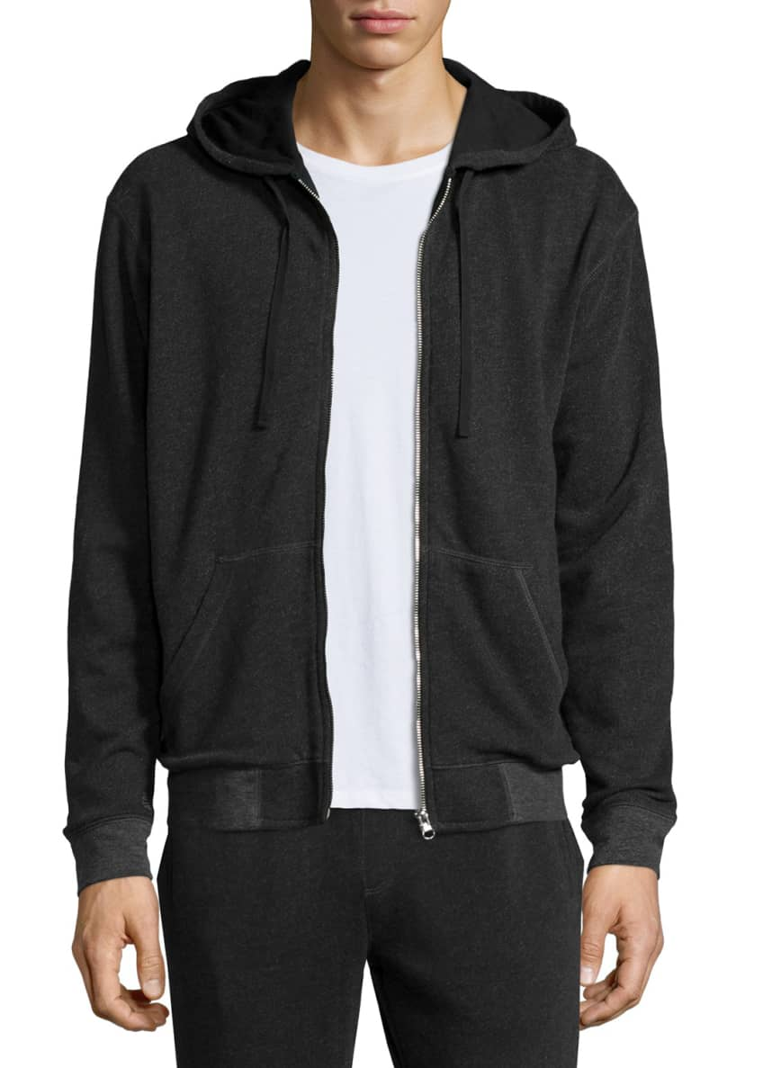 ATM Anthony Thomas Melillo French Terry Zip-Up Hoodie,