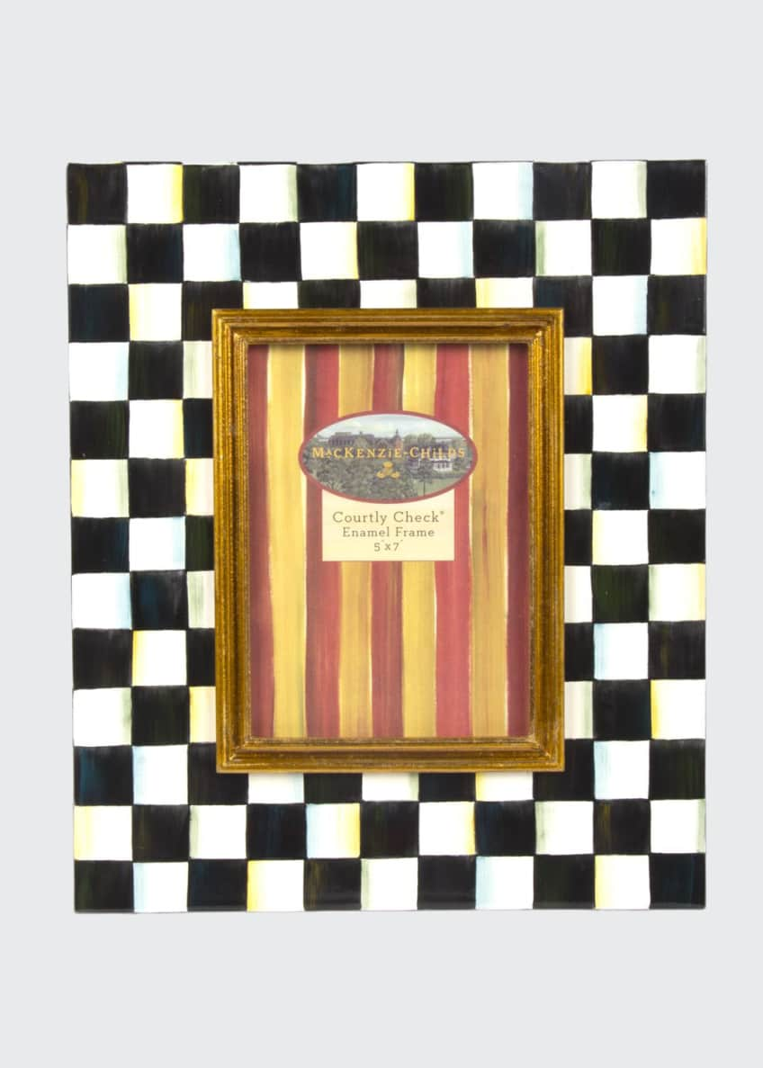 Image 1 of 1: Large Courtly Check Photo Frame