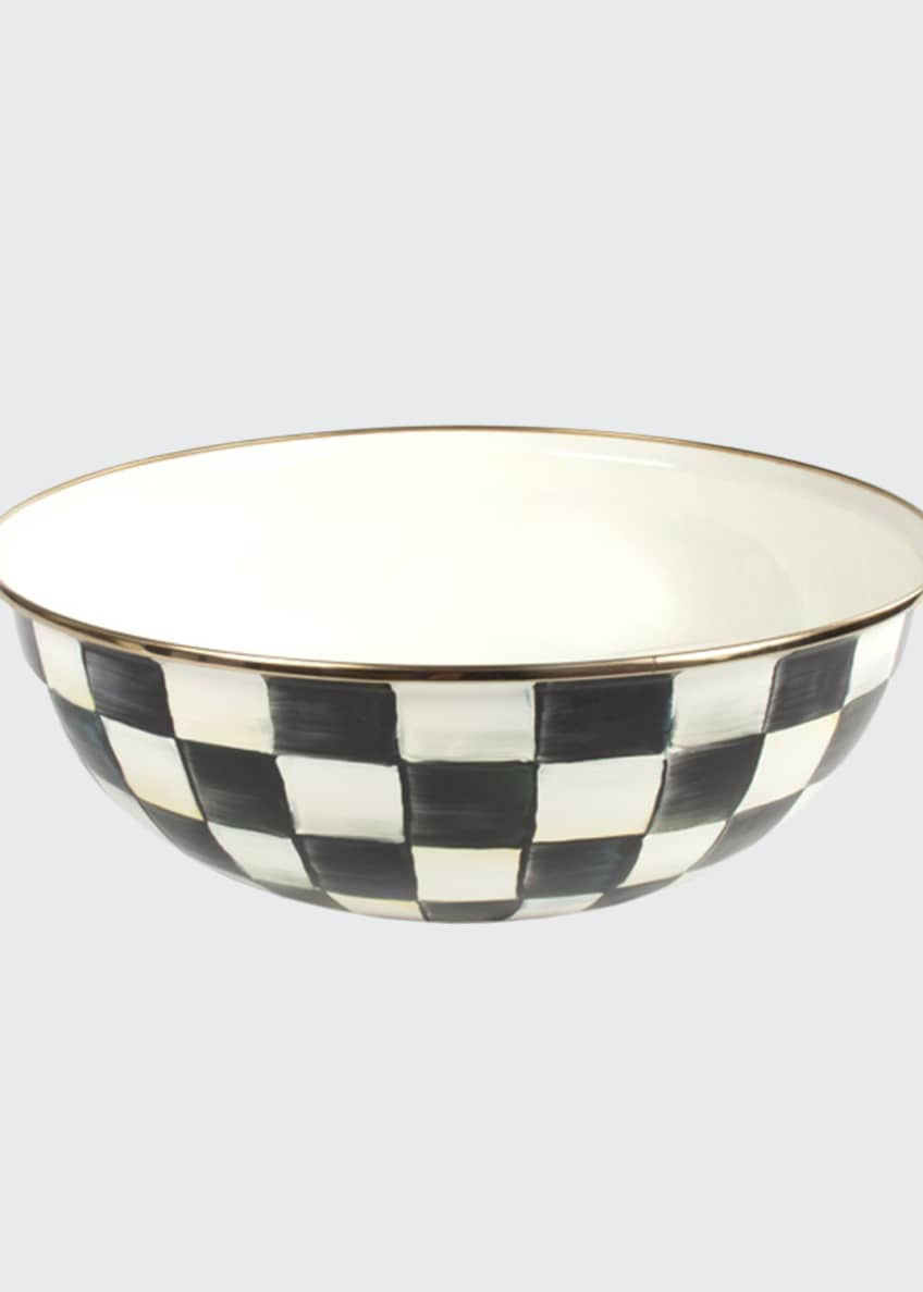 Image 1 of 1: Extra-Large Courtly Check Everyday Bowl