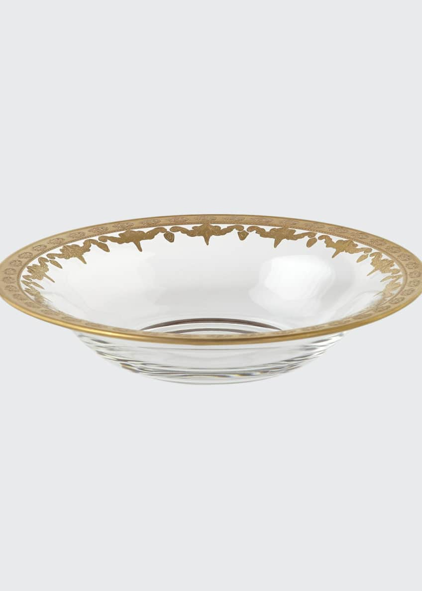 Image 1 of 1: Vetro Gold Soup Bowl