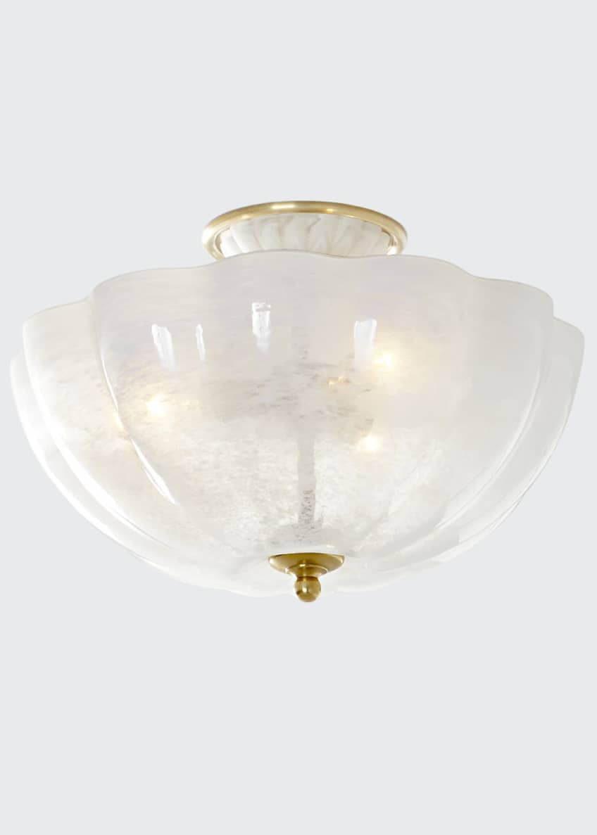 Image 1 of 2: Rosehill Semi-Flush Light Fixture