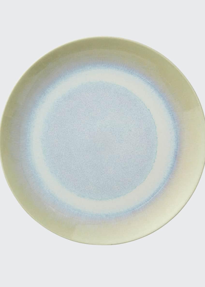 Kim Seybert Crackle Seaglass Pooling Ombre Dessert Plate
