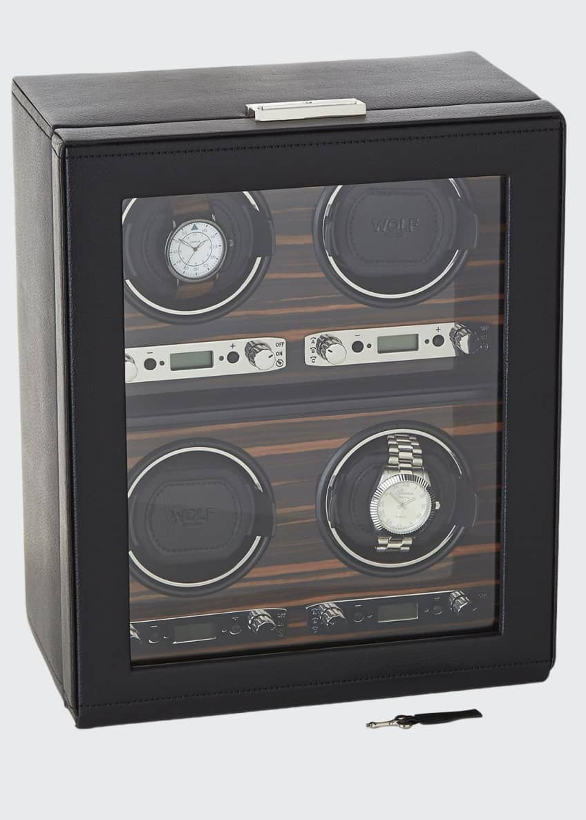 WOLF Roadster 4 Piece Watch Winder