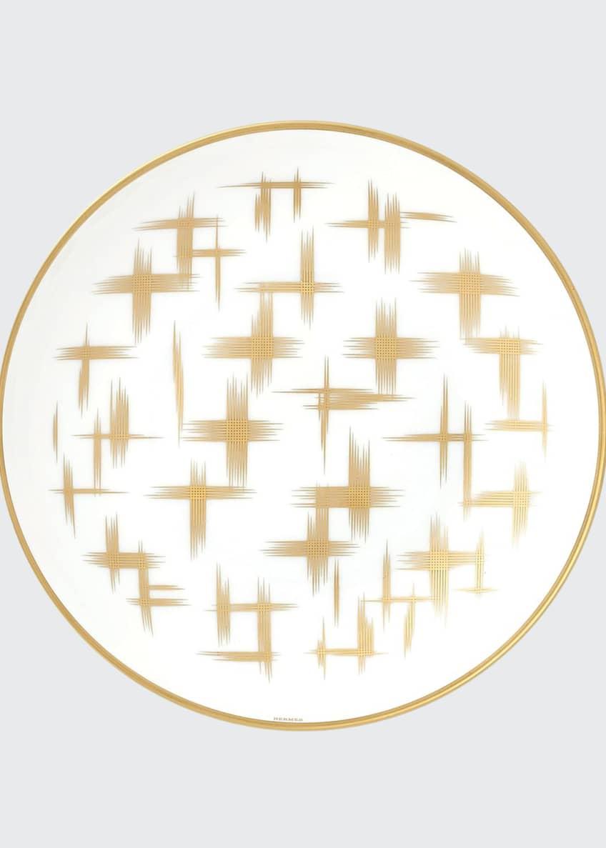 Hermès Voyage Ikat Cereal Plate