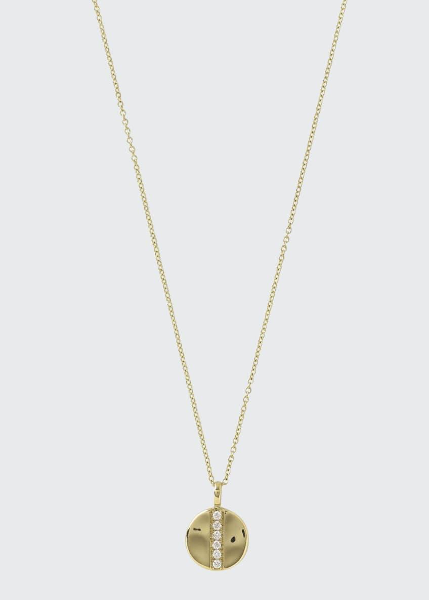 Ippolita 18K Glamazon Mini Disc Pendant Necklace with