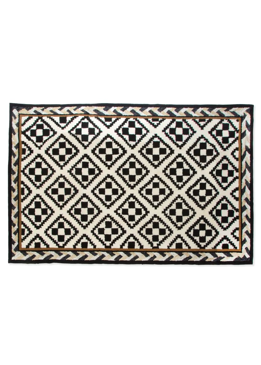 Image 1 of 1: Courtyard Outdoor Rug, 2' x 3'