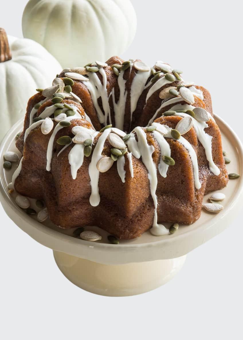 PM Delights Pumpkin Rum Bundt Cake