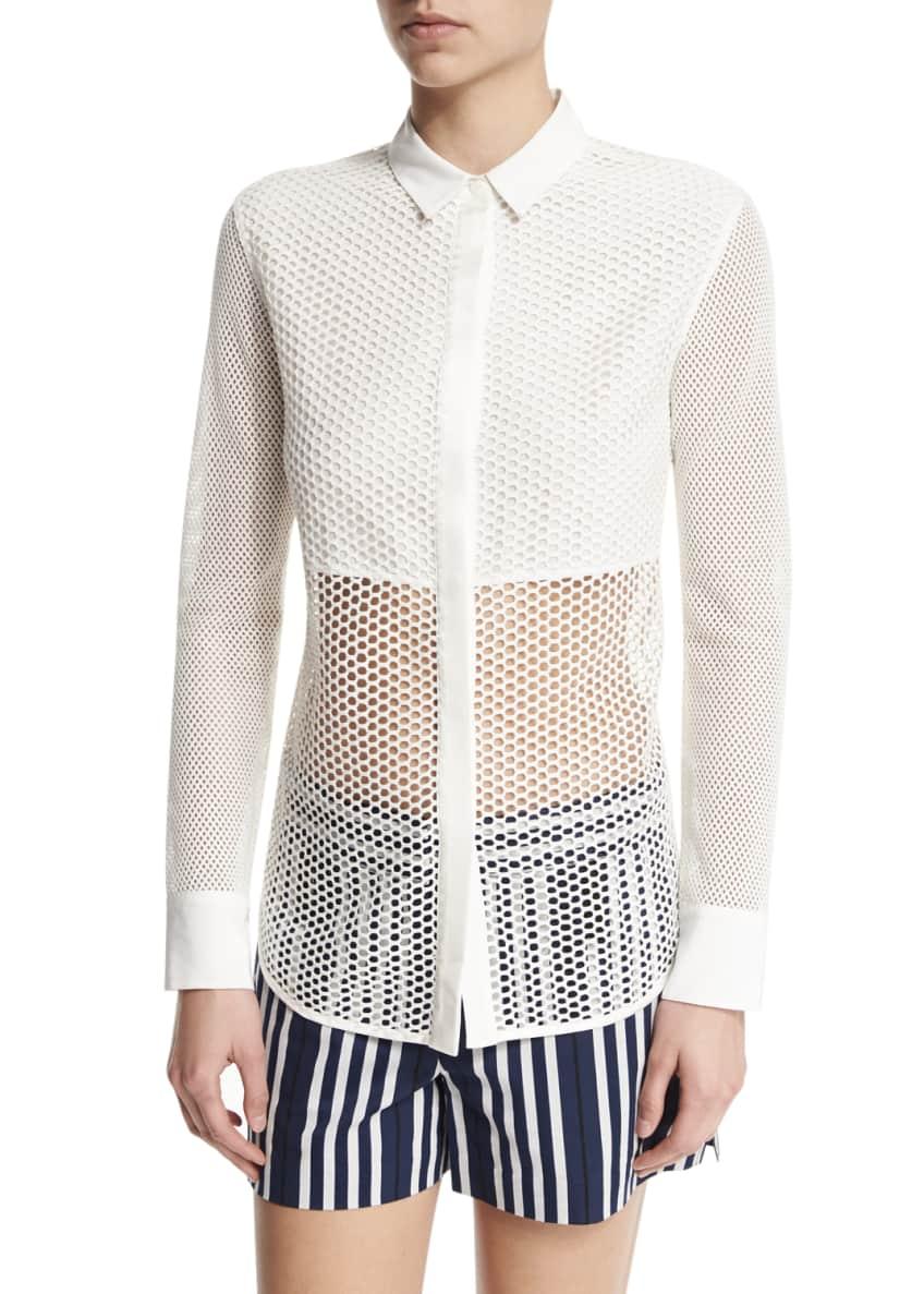 Rag & Bone Windsor Striped Woven Blazer, Luna