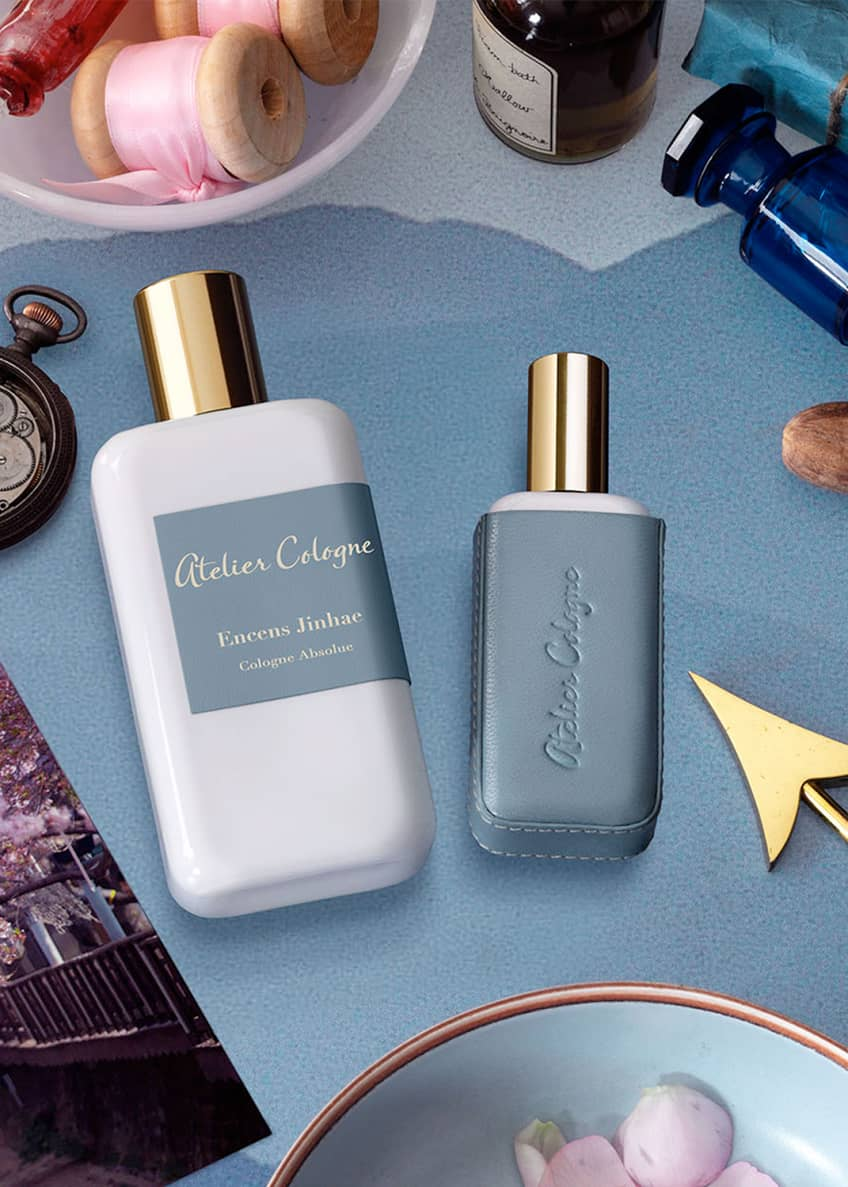 Atelier Cologne Encense Jinhae Cologne Absolue, 200 mL with Personalized Travel Spray, 1.0 oz./ 30 mL - Bergdorf Goodman