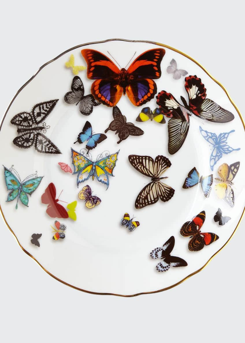Christian Lacroix Butterfly Parade Bread & Butter Plate