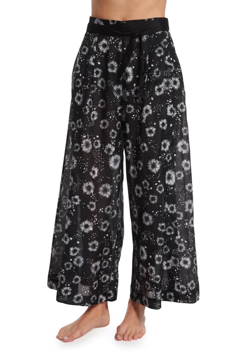 Proenza Schouler Tie-Front Solid Two-Piece Swimsuit &