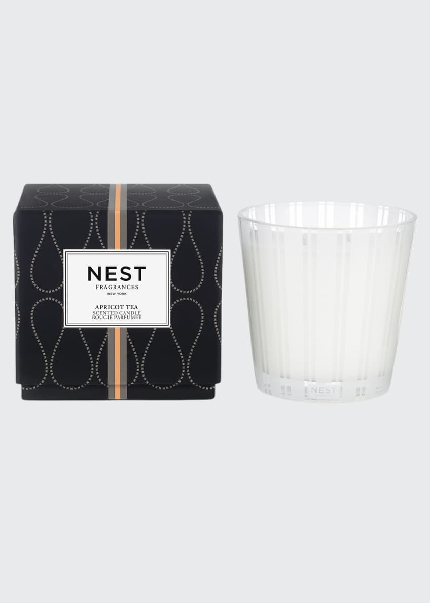 Image 1 of 1: Apricot Tea 3-Wick Candle, 21.2 oz./ 600 g