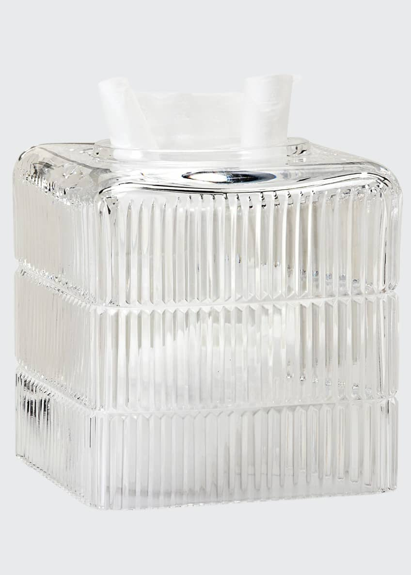 Image 1 of 1: Prisma Clear Tissue Box Cover