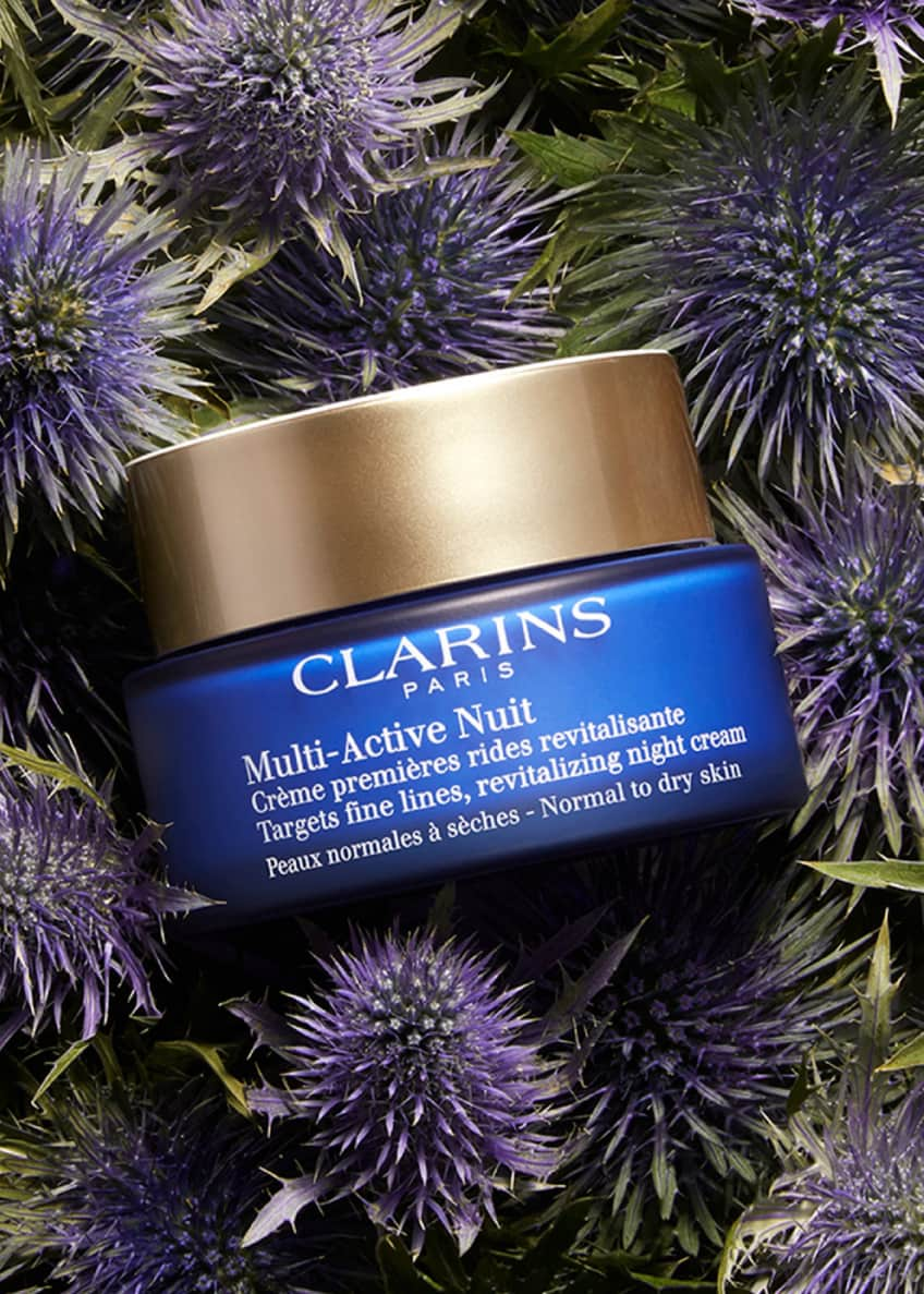 Image 4 of 5: Multi-Active Night Cream for Normal to Dry Skin, 1.7 oz.
