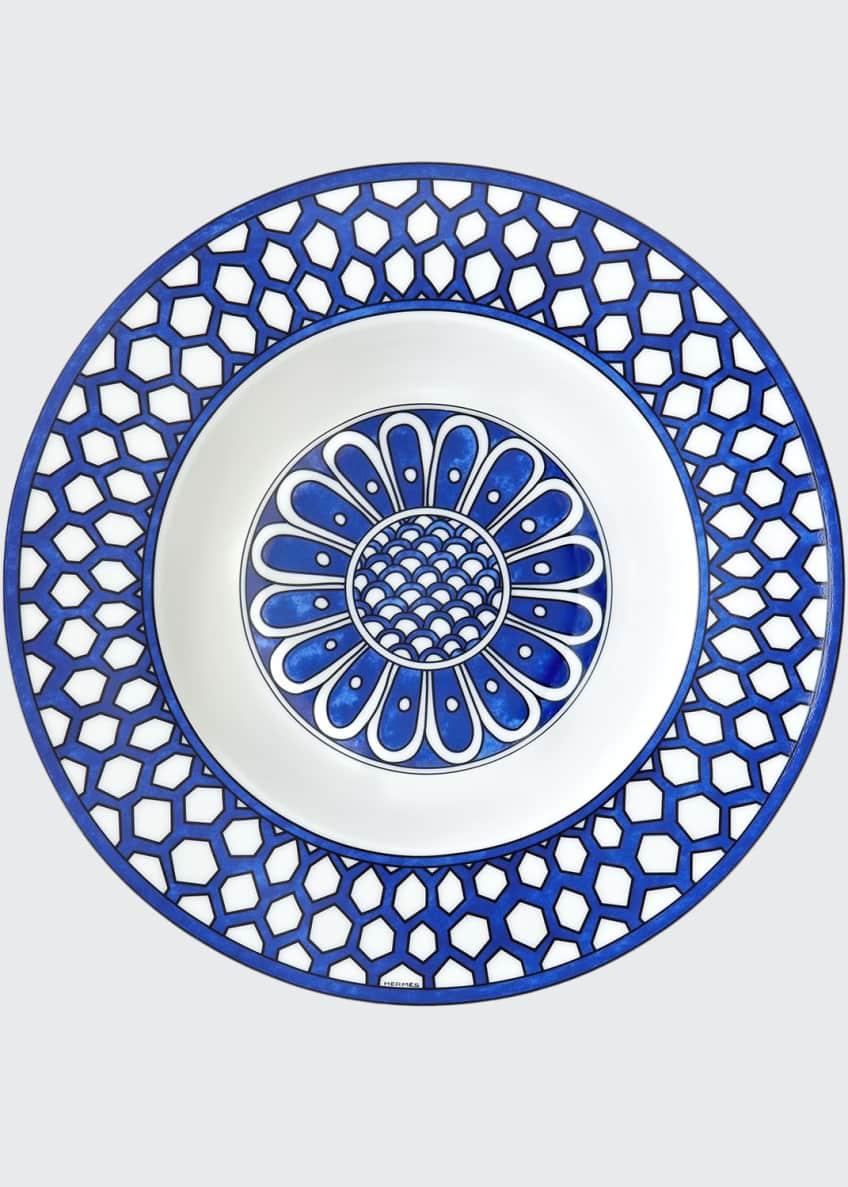 Hermès Bleus D'ailleurs Soup Plate