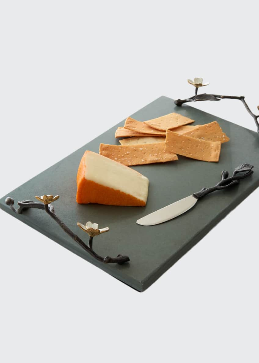 Image 1 of 1: Dogwood Cheese Board with Knife
