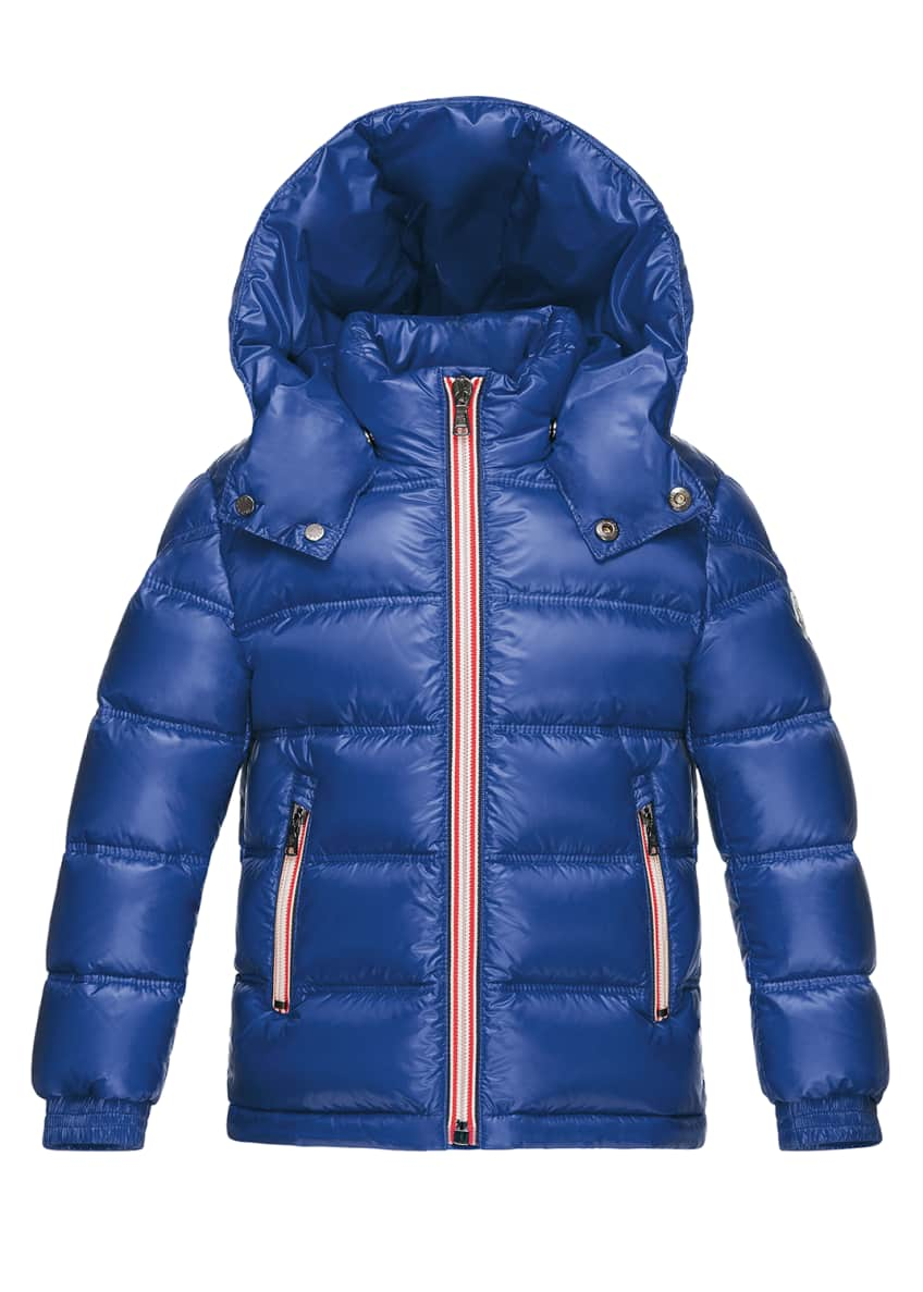 Moncler Gaston Web-Trim Quilted Coat & Matching Items