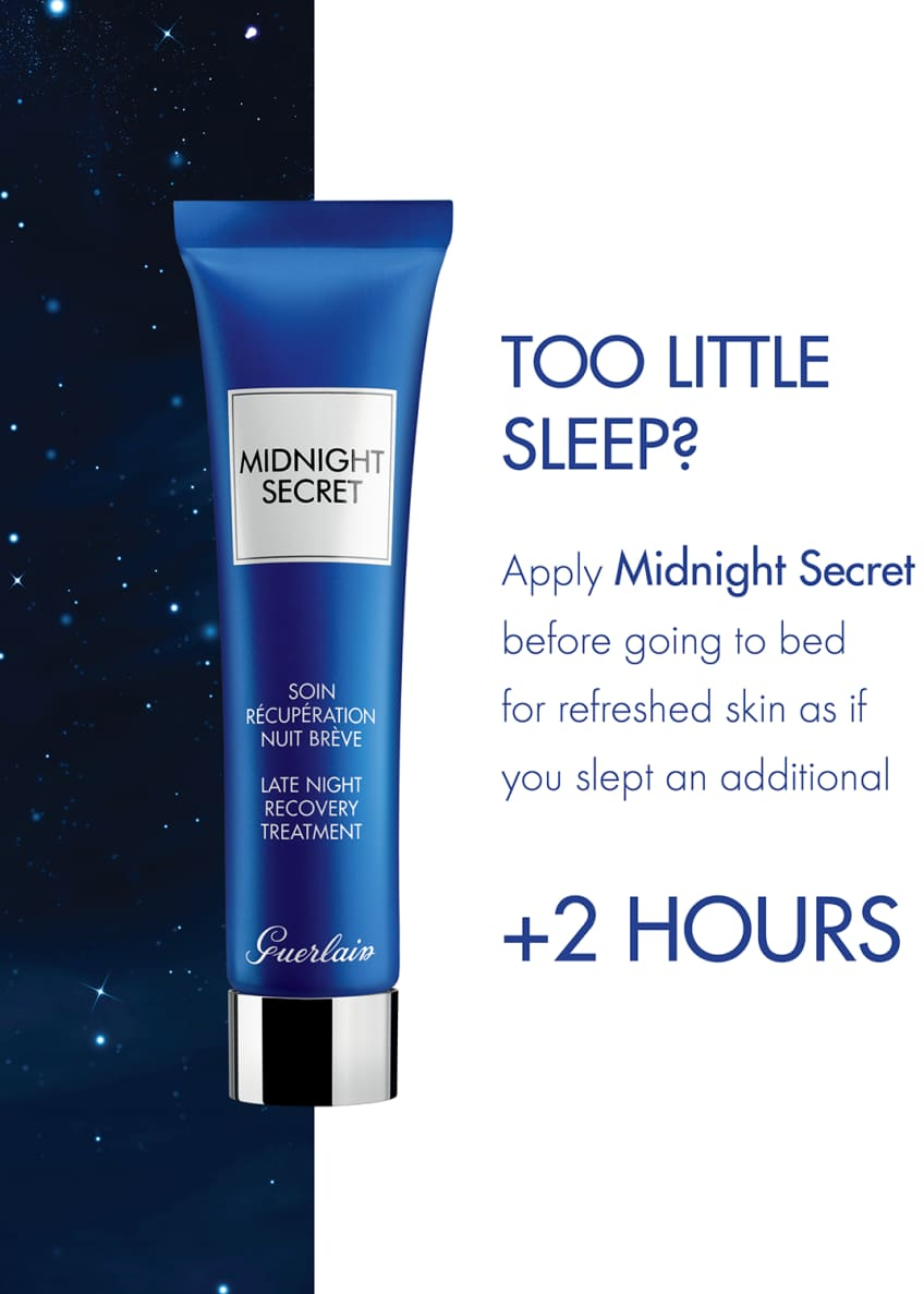 Guerlain 0.5 oz. Midnight Secret Late Night Recovery Treatment Serum - Bergdorf Goodman