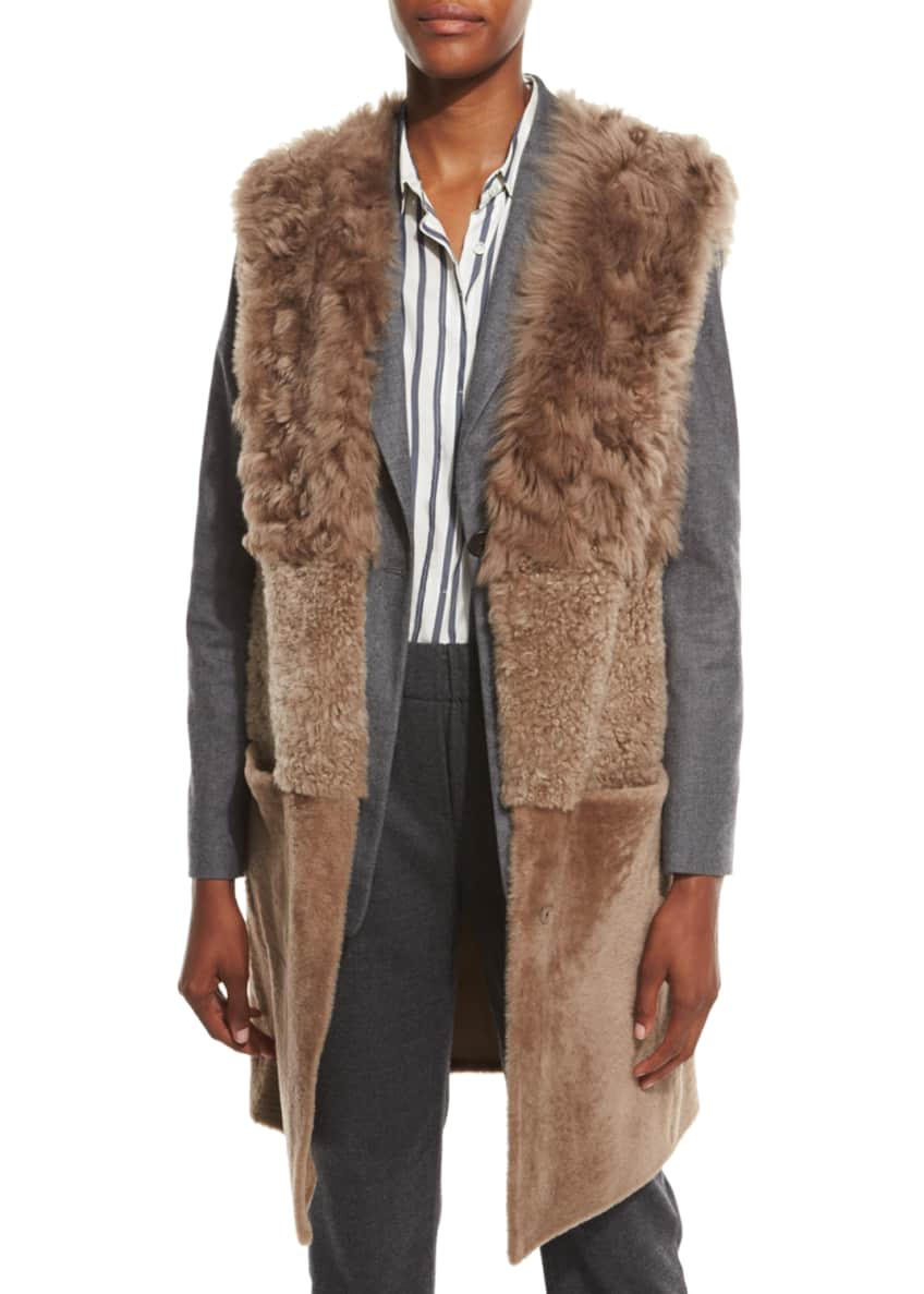 Brunello Cucinelli Blazer, Vest, Pants, Blouse & Matching
