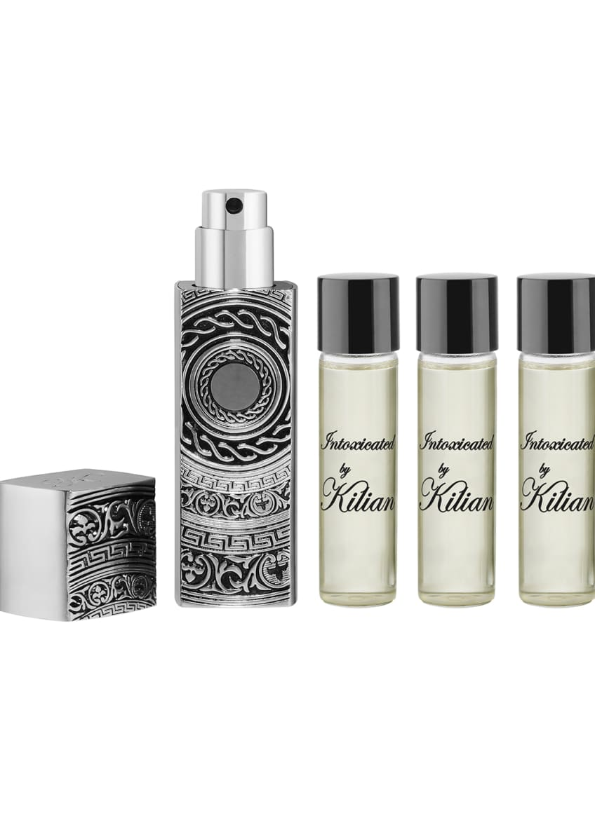 Kilian Intoxicated Travel Spray with its 4 x