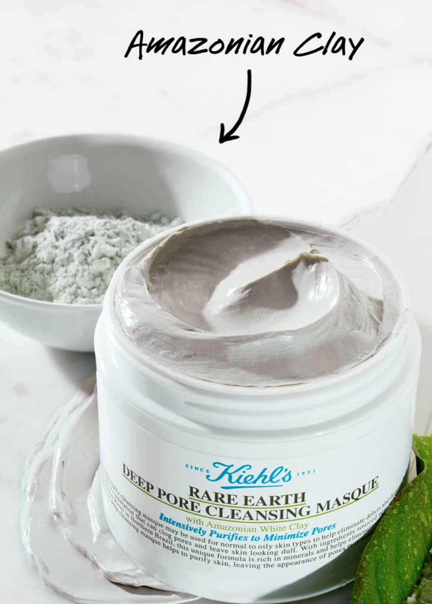 Image 3 of 5: Rare Earth Deep Pore Cleansing Mask, 5.0 oz.